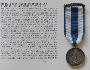 Queen Victoria's Diamond Jubilee Medal 1897