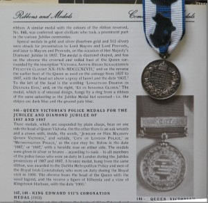 Queen Victoria's Diamond Jubilee Medal 1897 reverse and continued