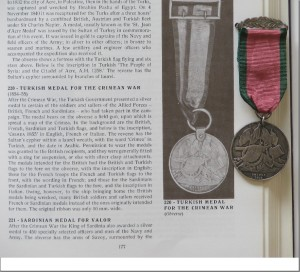 Turkish Medal for the Crimean War 1854-55