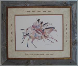 Barnboard Horses