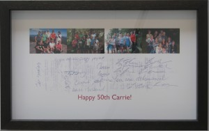 Carrie's bday frame other side