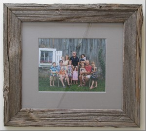Hogan Barn Board Frame
