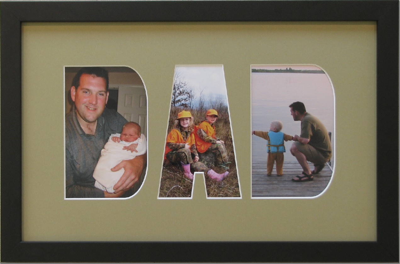 Give a unique and crafty gift this christmas walkerworks dad photo frame jeuxipadfo Choice Image