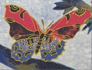 Batik detail