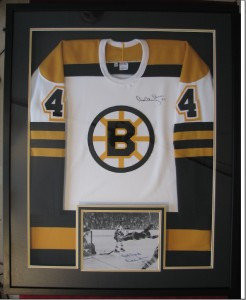 Bobby Orr Jersey and Photo