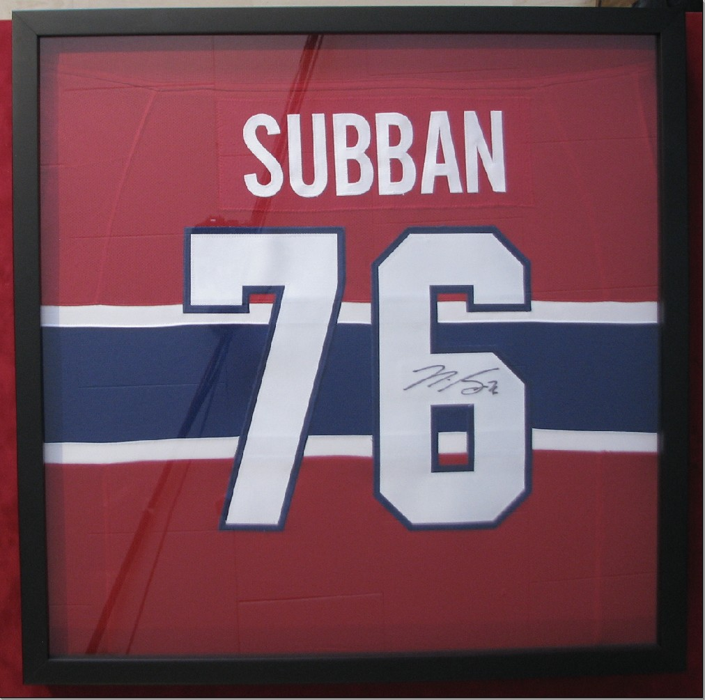 or perhaps you want your jersey in a smaller frame because you love hockey so much and frame so much hockey stuff for your mancave that you are getting low